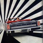 obrázek z reklamního plakátu Ford z roku 1966