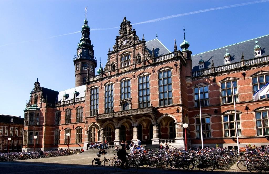 Kola před Groningenskou univerzitou. Foto: Alamy