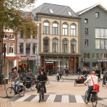 V Groningenu je odhadem 61 % cest vykonáno na kole. Foto: Alamy